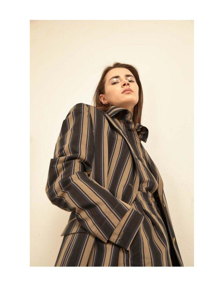 Новая коллекция Sergey Soroka вдохновлена мужским гардеробом. Изображение № 8.