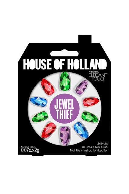 House of Holland и Elegant Touch сделали классные накладные ногти. Изображение № 1.
