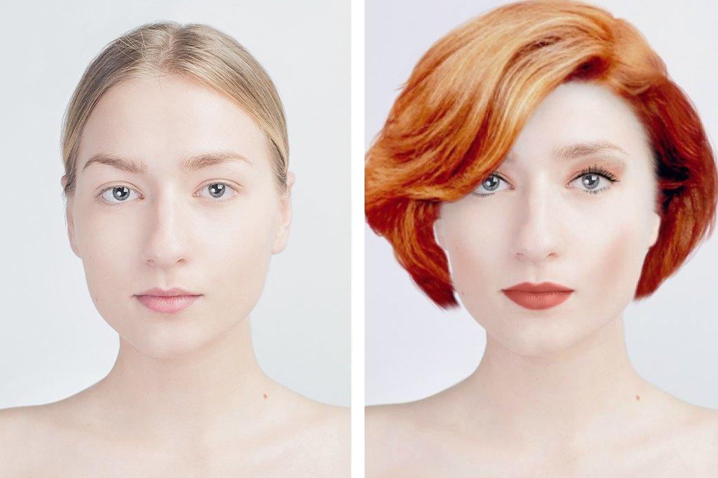 До и после макияжа:  Редакция тестирует  бьюти-приложения. Изображение № 12.
