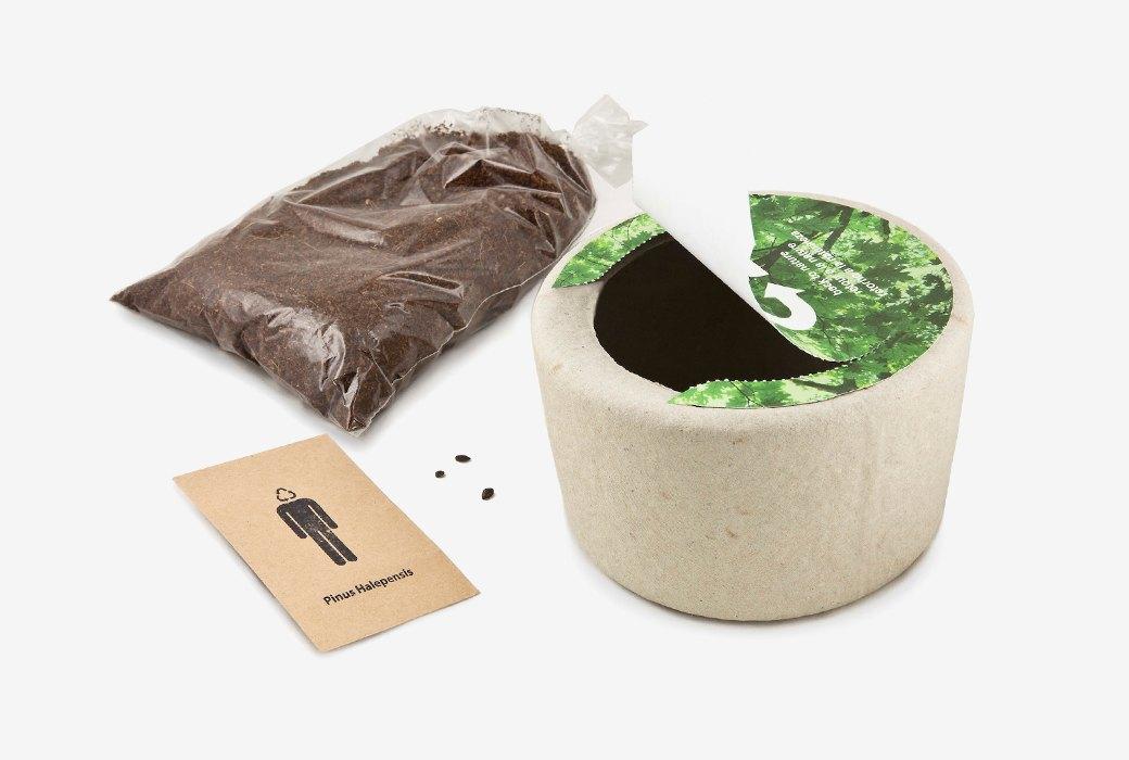 Урна для праха Bios,  из которой можно вырастить дерево. Изображение № 2.