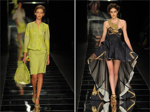 Показы на Milan Fashion Week SS 2012: День 1. Изображение № 8.