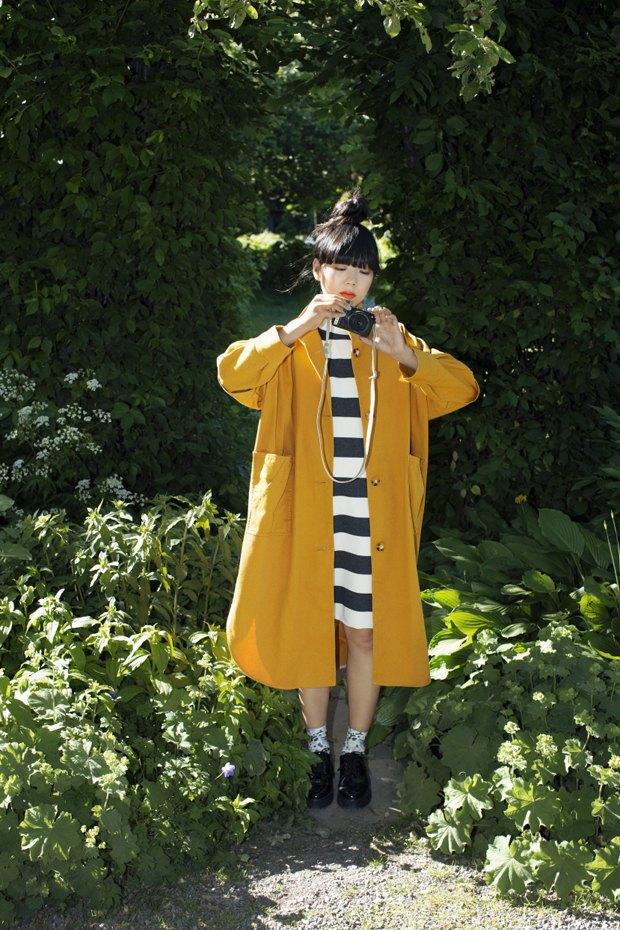 Блогер Сьюзи Баббл стала лицом линейки денима Monki. Изображение № 5.