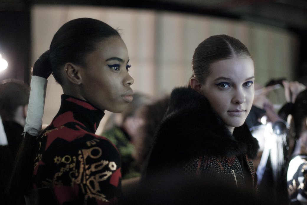 Paris Fashion Week FW 14: Бэкстейдж показа Kenzo. Изображение № 10.