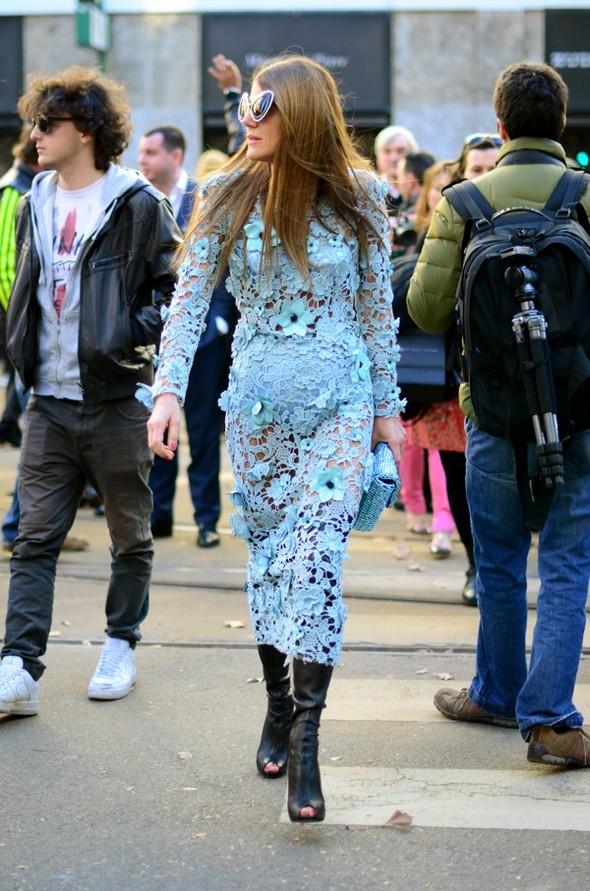 Неделя моды в Милане: Streetstyle. Изображение № 42.