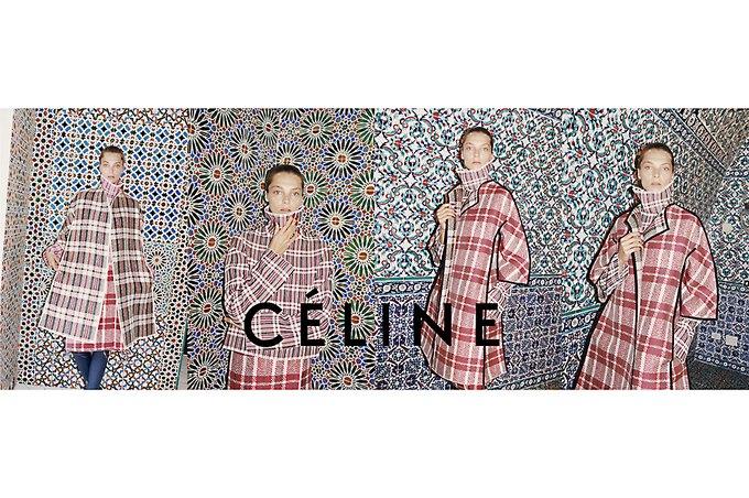 Дарья Вербова в новой рекламе Céline. Изображение № 1.