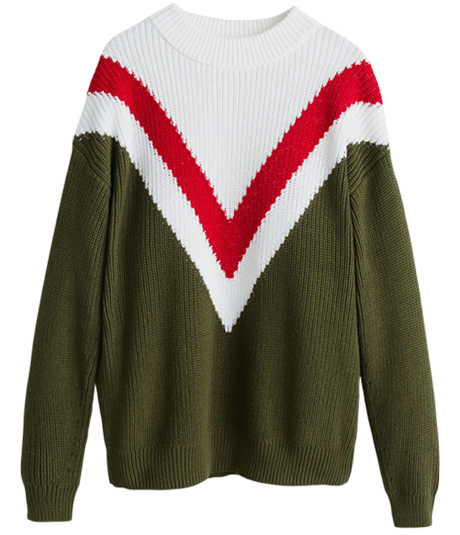 Пора утепляться: 10 свитеров с ярким принтом. Изображение № 3.