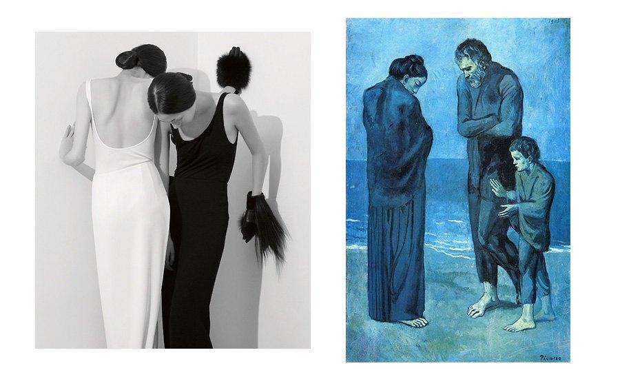Минимализм и голубой период Пабло Пикассо. Изображение № 20.