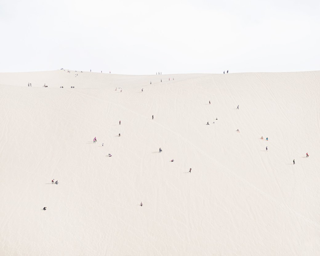 «Познавая мир»: Туристы  в китайской пустыне. Изображение № 10.