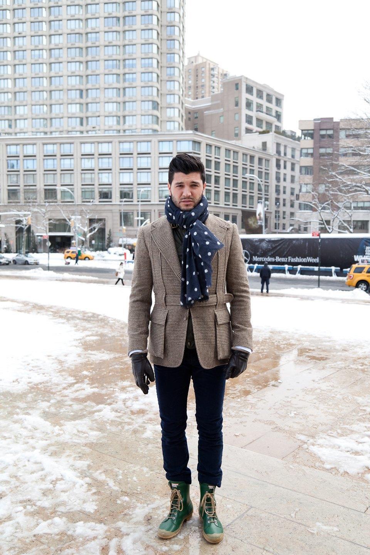 Неделя моды в Нью-Йорке,  часть I. Изображение № 9.