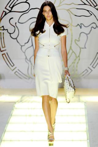 Milan Fashion Week: показ Versace SS 2012. Изображение № 11.