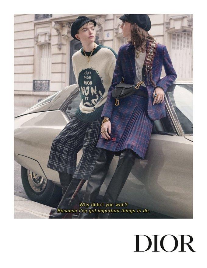 Dior показал кампанию в духе фильмов французской новой волны. Изображение № 2.