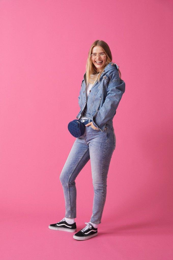 Люби деним: Monki показали новый джинсовый лукбук . Изображение № 7.