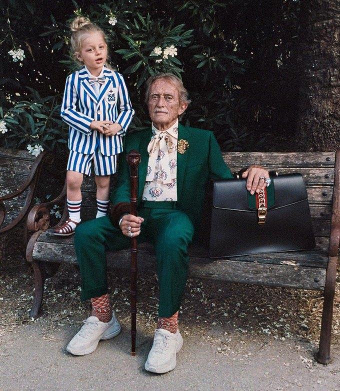 Gucci выпустили кампанию с моделями разных возрастов. Изображение № 1.