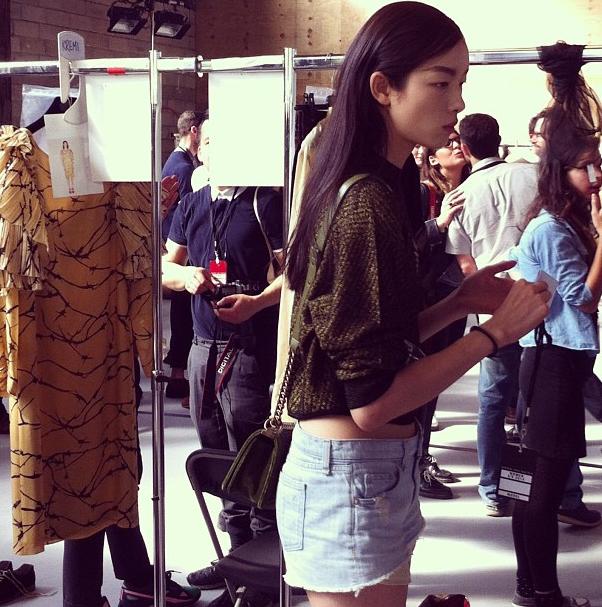 Прямой репортаж  с Paris Fashion Week:  День 2. Изображение № 27.