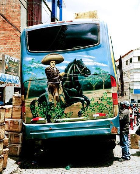«Боливийские автобусы»:  Поп-культура на колесах. Изображение № 7.