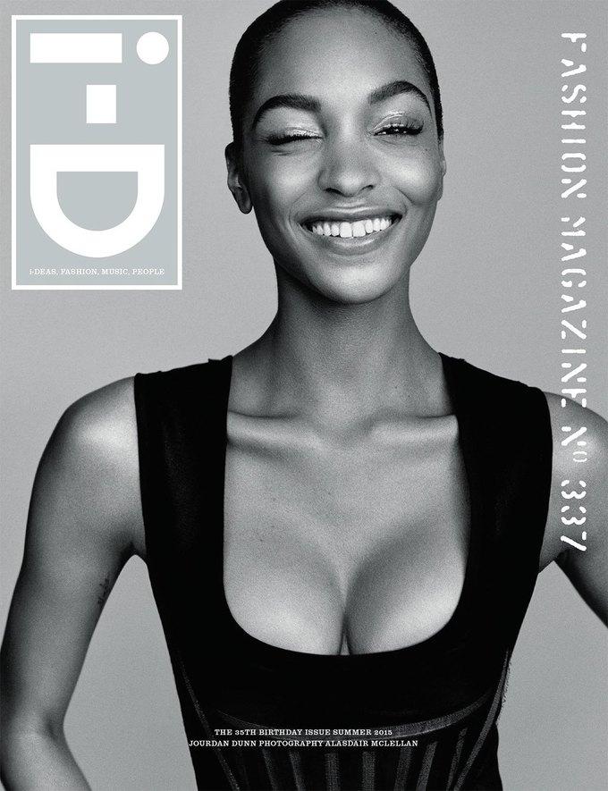 Журнал i-D отметил  35-летие восемнадцатью обложками с моделями. Изображение № 6.