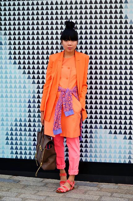 London Fashion Week: Уличный стиль, часть 1. Изображение № 5.