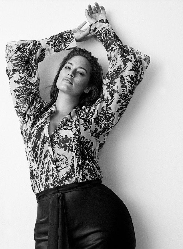 Плюс-сайз-модель Эшли Грэхэм стала лицом коллекции H&M Studio. Изображение № 5.