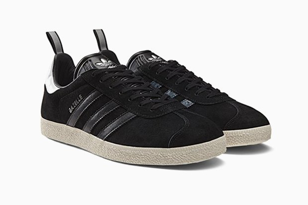 Обновлённые кроссовки adidas Gazelle  родом из 90-х. Изображение № 2.