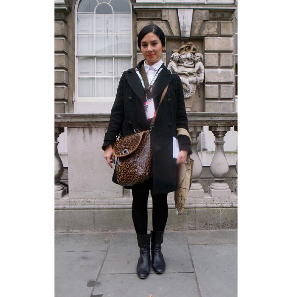 London Fashion Week: день первый — луки. Изображение № 15.