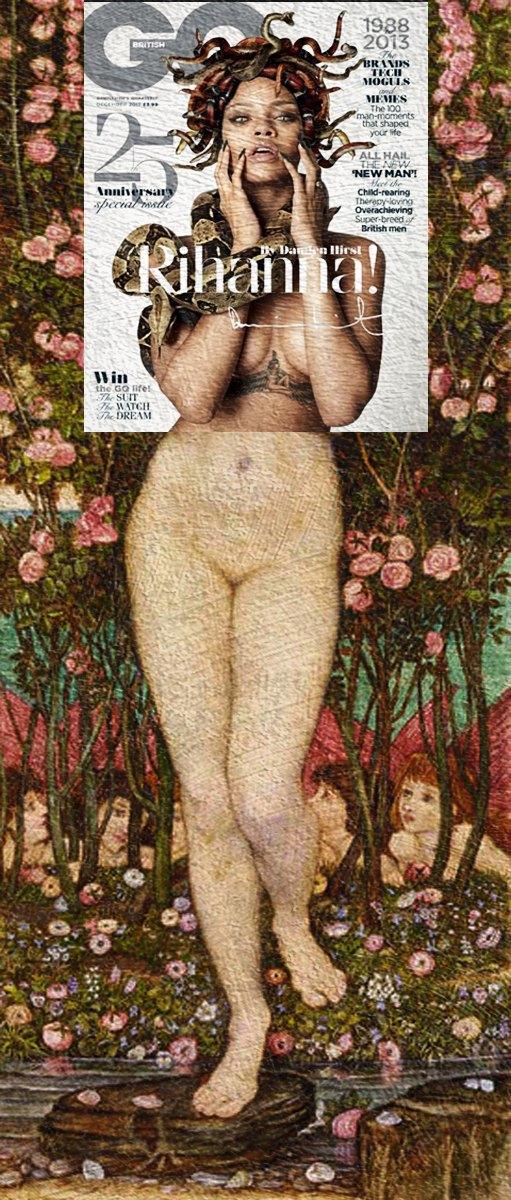 Mag + Art: Коллажи из глянца и живописи. Изображение № 15.