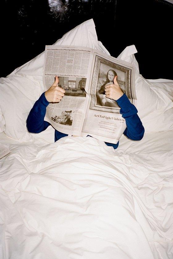 Скай Феррейра снялась в кампании Maison Kitsuné . Изображение № 3.
