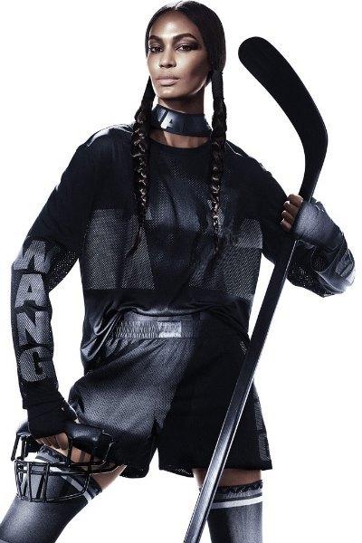 Вышла кампания Alexander Wang x H&M с «воинами спорта». Изображение № 2.