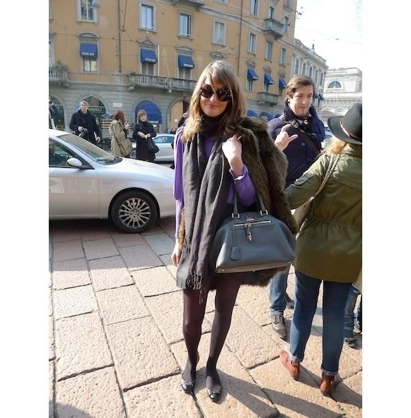 Milan Fashion Week: день первый — луки. Изображение № 14.