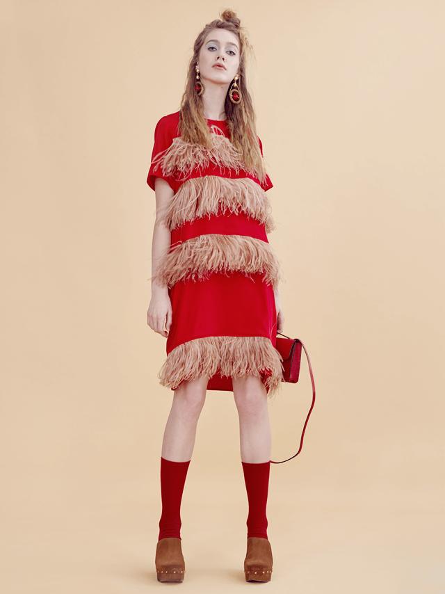 В красном цвете:  Яркие образы для  Нового года и не только. Изображение № 5.