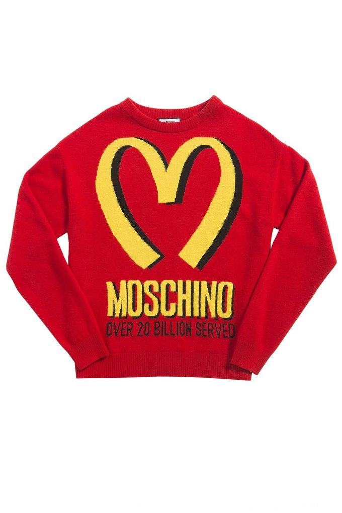 Коллекция Moschino о McDonald's поступает в продажу. Изображение № 1.